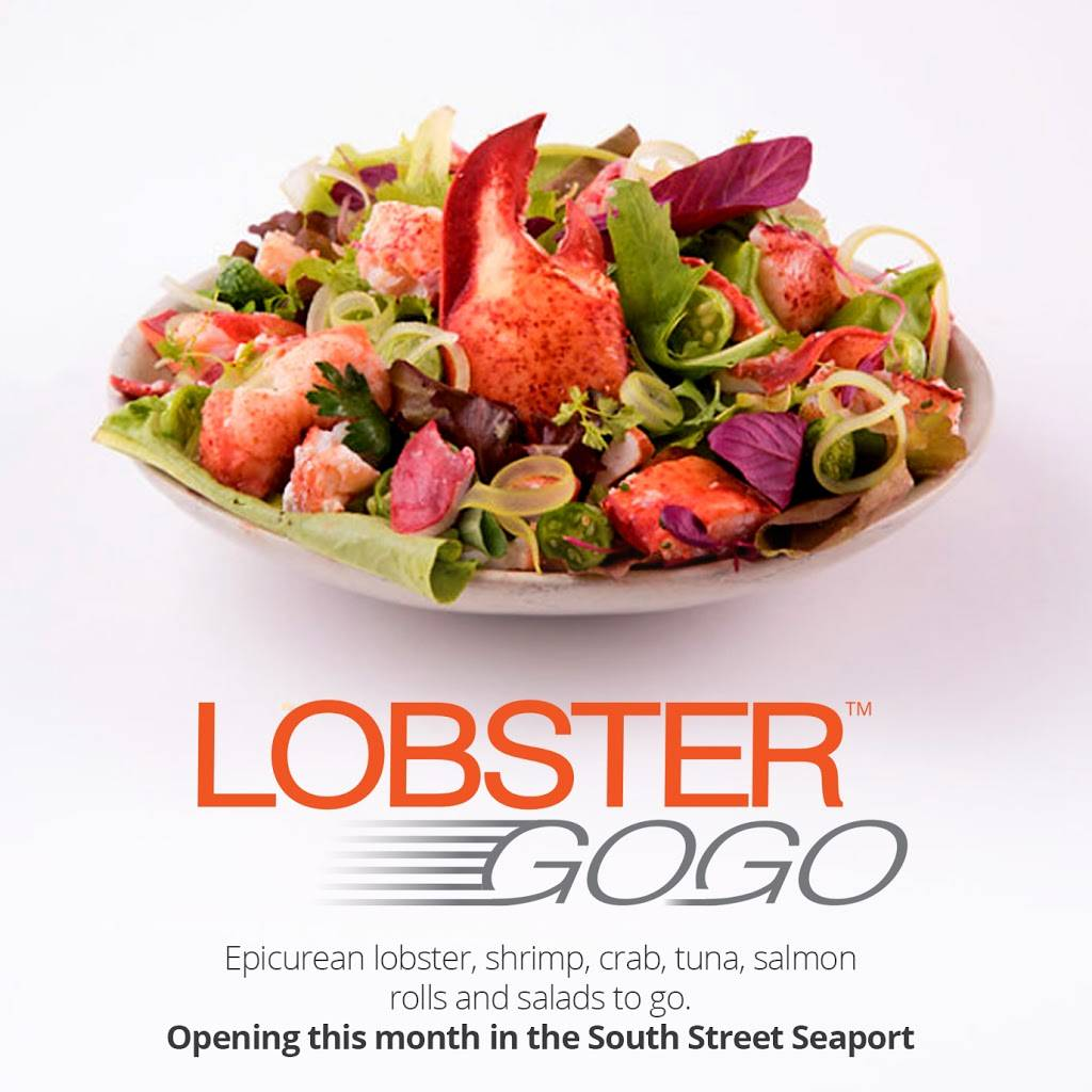 Lobster Gogo | restaurant | Seaport District, 190 Front St, New York, NY 10038, USA | 2128094646 OR +1 212-809-4646