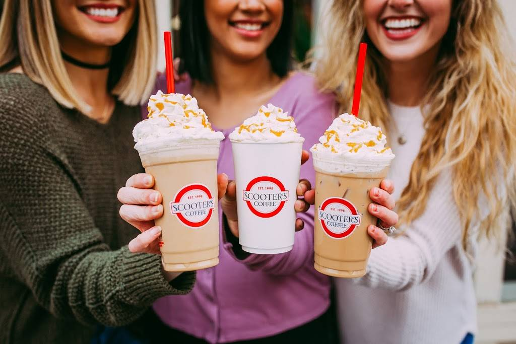 Scooters Coffee | bakery | 1550 Harlan Dr, Bellevue, NE 68005, USA | 4029325665 OR +1 402-932-5665