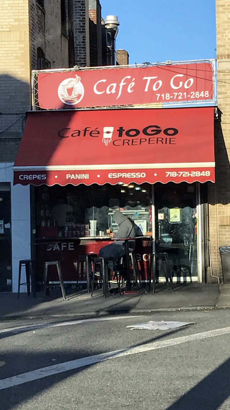 Café To Go Creperie | restaurant | 28-58 32nd St, Astoria, NY 11102, USA | 7187212848 OR +1 718-721-2848
