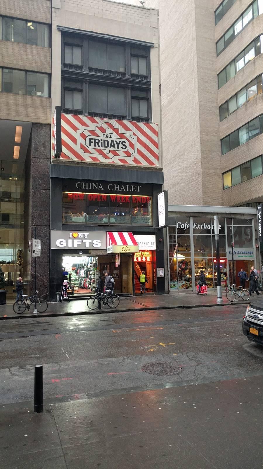 China Chalet | restaurant | 47 Broadway, New York, NY 10006, USA | 2129434380 OR +1 212-943-4380