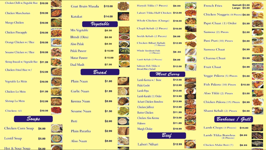 Lahori Zaiqa Restaurant | restaurant | Andrew Dr, Manassas Park, VA 20111, USA | 5713798766 OR +1 571-379-8766
