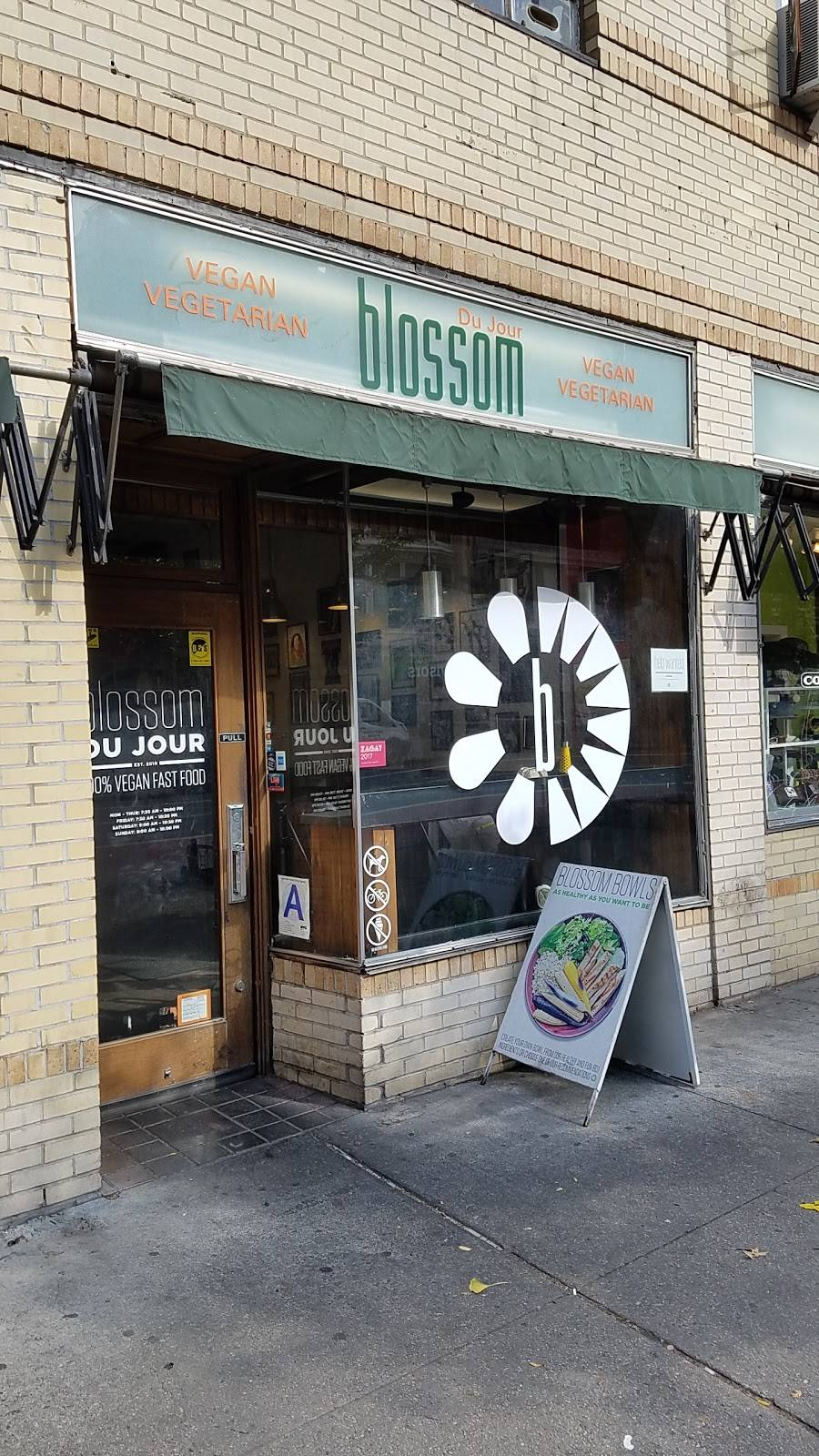 Blossom Du Jour | restaurant | 259 W 23rd St, New York, NY 10011, USA | 2122292595 OR +1 212-229-2595