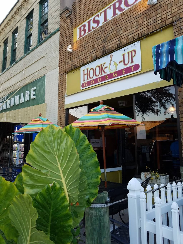 Hook U Up Gourmet | restaurant | 227 Mason Ave, Cape Charles, VA 23310, USA | 7573312275 OR +1 757-331-2275