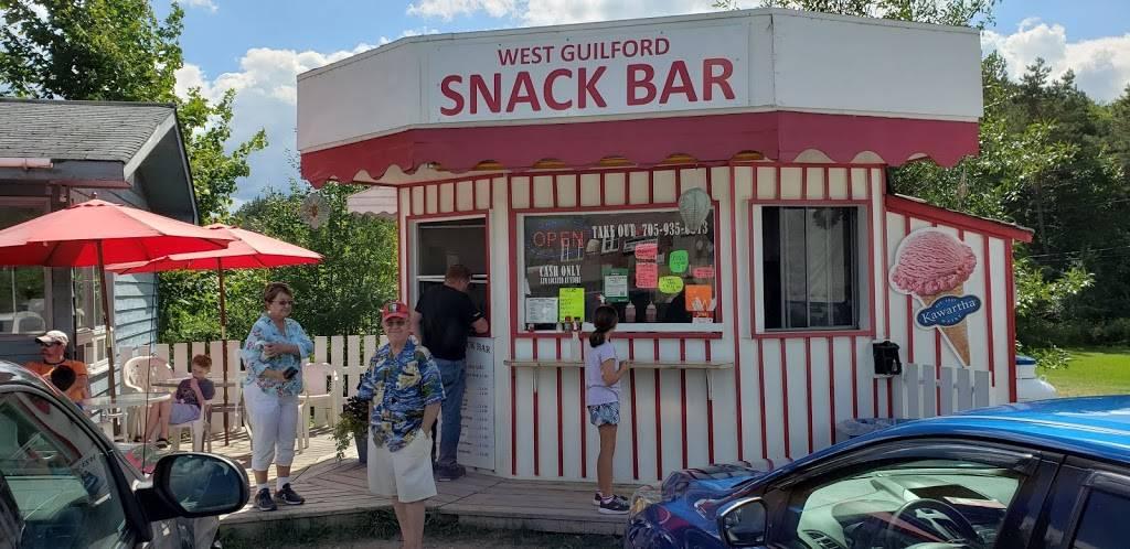 West Guilford Snack Bar   restaurant   1119 Kennisis Lake Rd, Dysart et al, ON K0M, Canada   7059350372 OR +1 705-935-0372