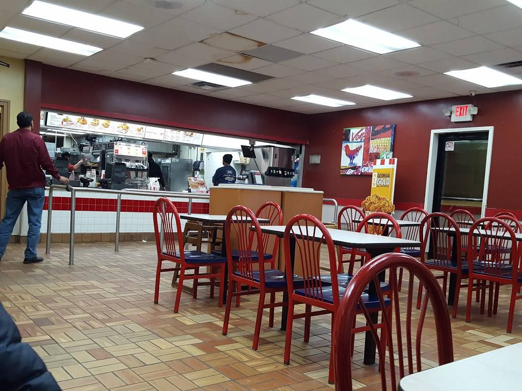 KFC   restaurant   140-04 Queens Blvd, Jamaica, NY 11435, USA   7185230540 OR +1 718-523-0540