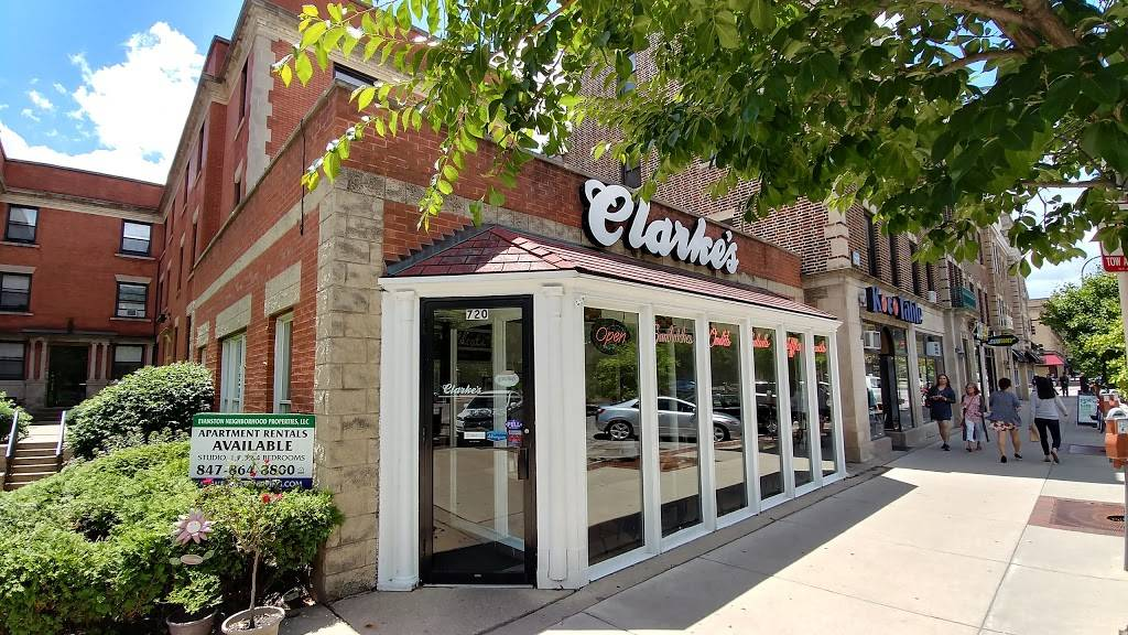Clarkes | restaurant | 720 Clark St, Evanston, IL 60201, USA | 8478641610 OR +1 847-864-1610