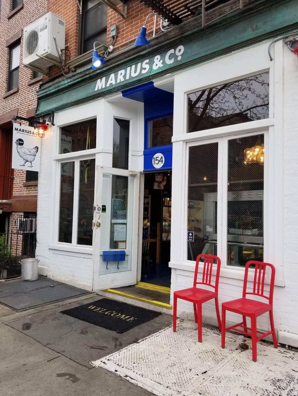 Marius & Co. | restaurant | 154 Carlton Ave, Brooklyn, NY 11205, USA | 9292502137 OR +1 929-250-2137
