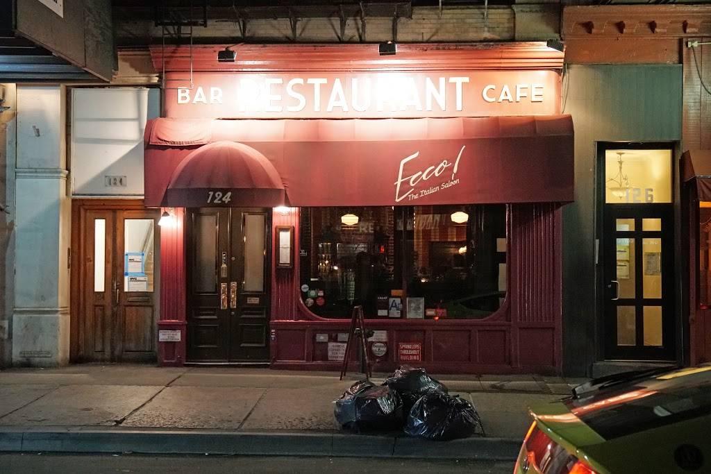 Ecco   restaurant   124 Chambers St, New York, NY 10007, USA   2122277074 OR +1 212-227-7074