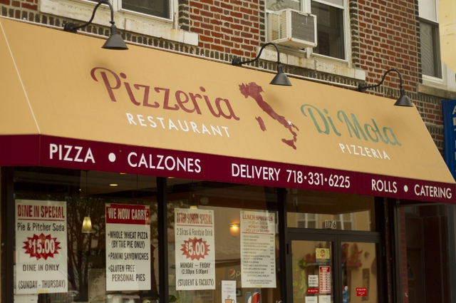 Pizzeria Di Mola | meal delivery | 176 Avenue O, Brooklyn, NY 11204, USA | 7183316225 OR +1 718-331-6225