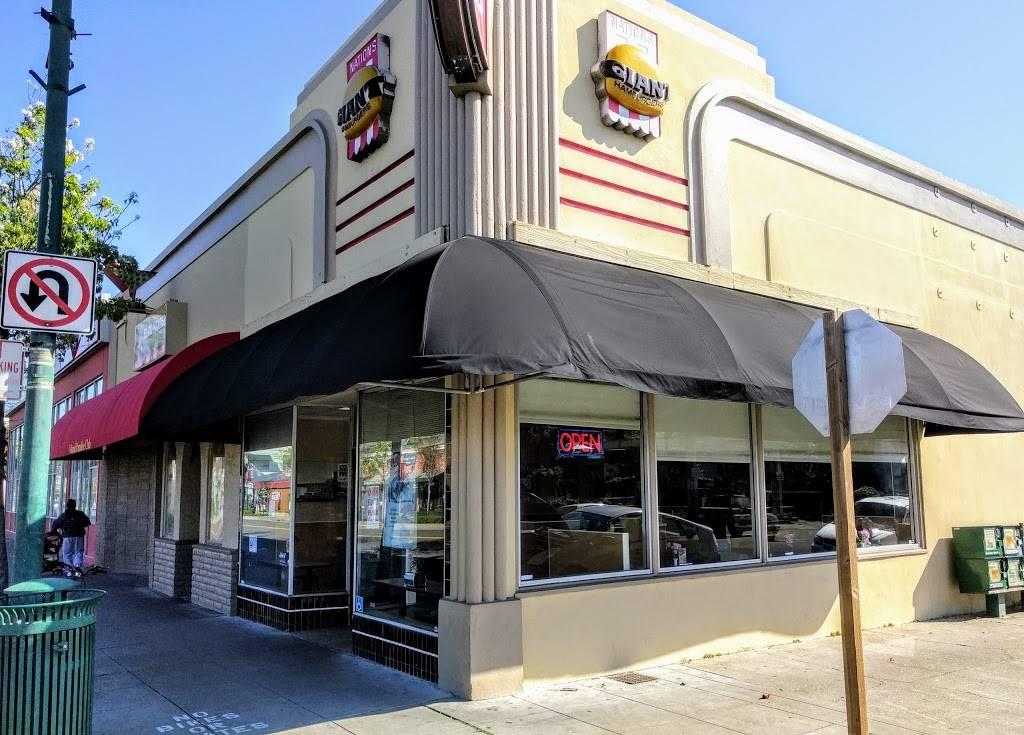 Nations Giant Hamburgers | restaurant | 1432 Webster St, Alameda, CA 94501, USA | 5105218888 OR +1 510-521-8888