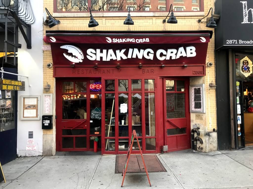 Shaking Crab (Upper West Side) | restaurant | 2869 Broadway, New York, NY 10025, USA | 6468612152 OR +1 646-861-2152