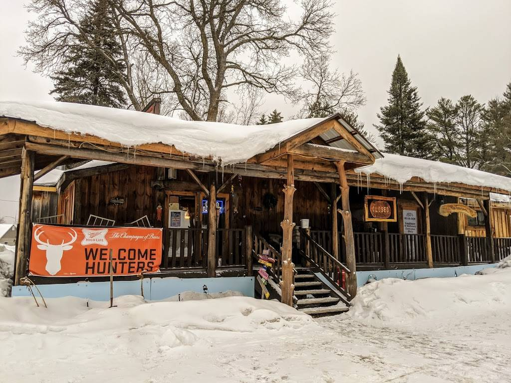 Kds Bear Den | restaurant | 52450 Wisconsin Ave, Drummond, WI 54832, USA | 7157396700 OR +1 715-739-6700