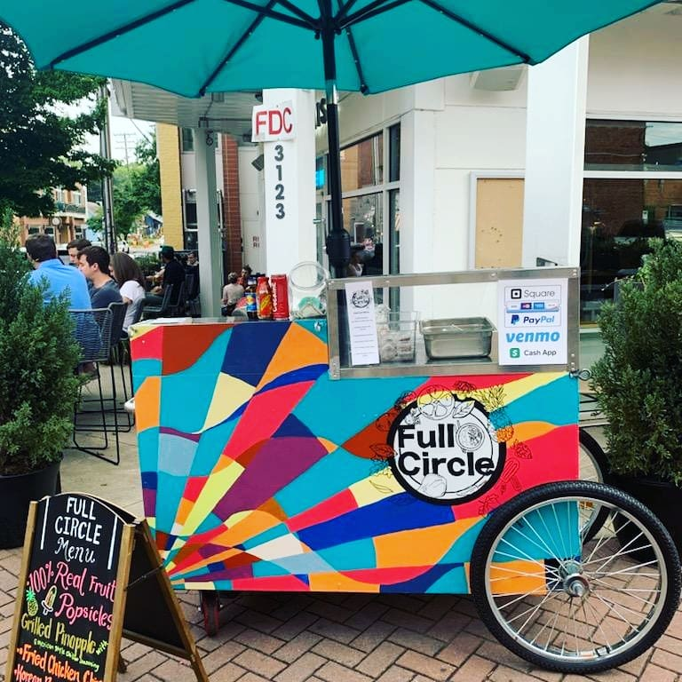 Full Circle Food Cart   restaurant   3123 N Davidson St, Charlotte, NC 28205, USA
