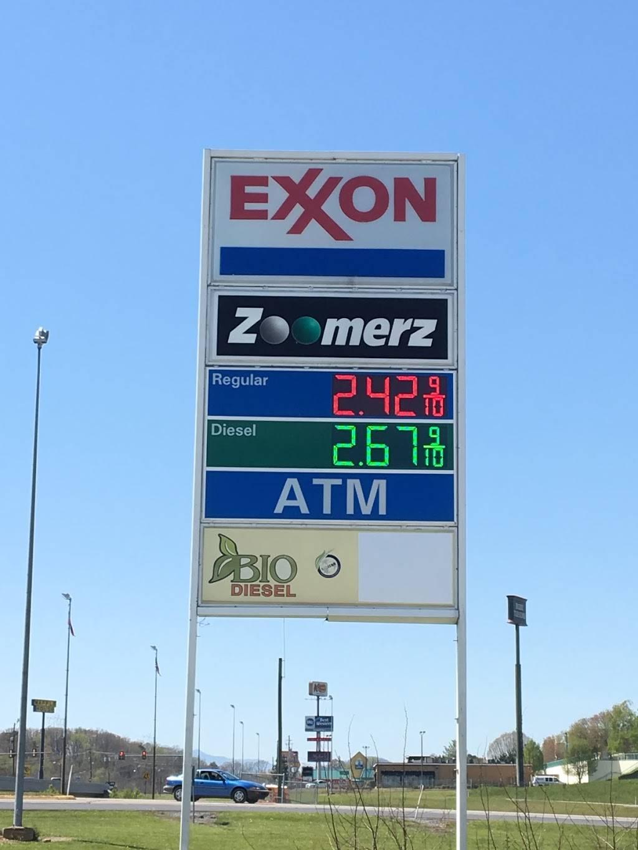 Exxon   restaurant   905 Cosby Hwy, Newport, TN 37821, USA   4236234724 OR +1 423-623-4724