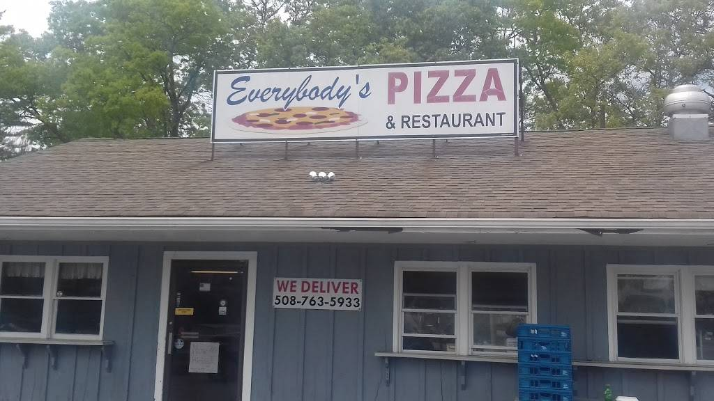 Everybodys Pizza | restaurant | 54 County St, East Freetown, MA 02717, USA | 5087635933 OR +1 508-763-5933