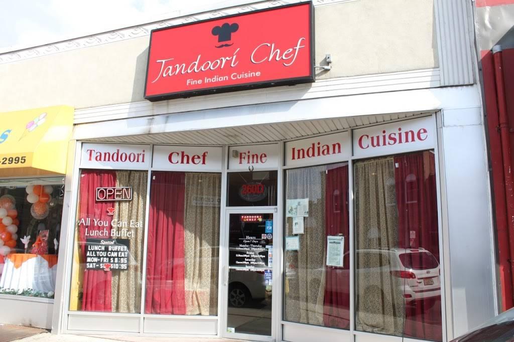 Tandoori Chef | restaurant | 258 Main St, Hackensack, NJ 07601, USA | 2014570057 OR +1 201-457-0057