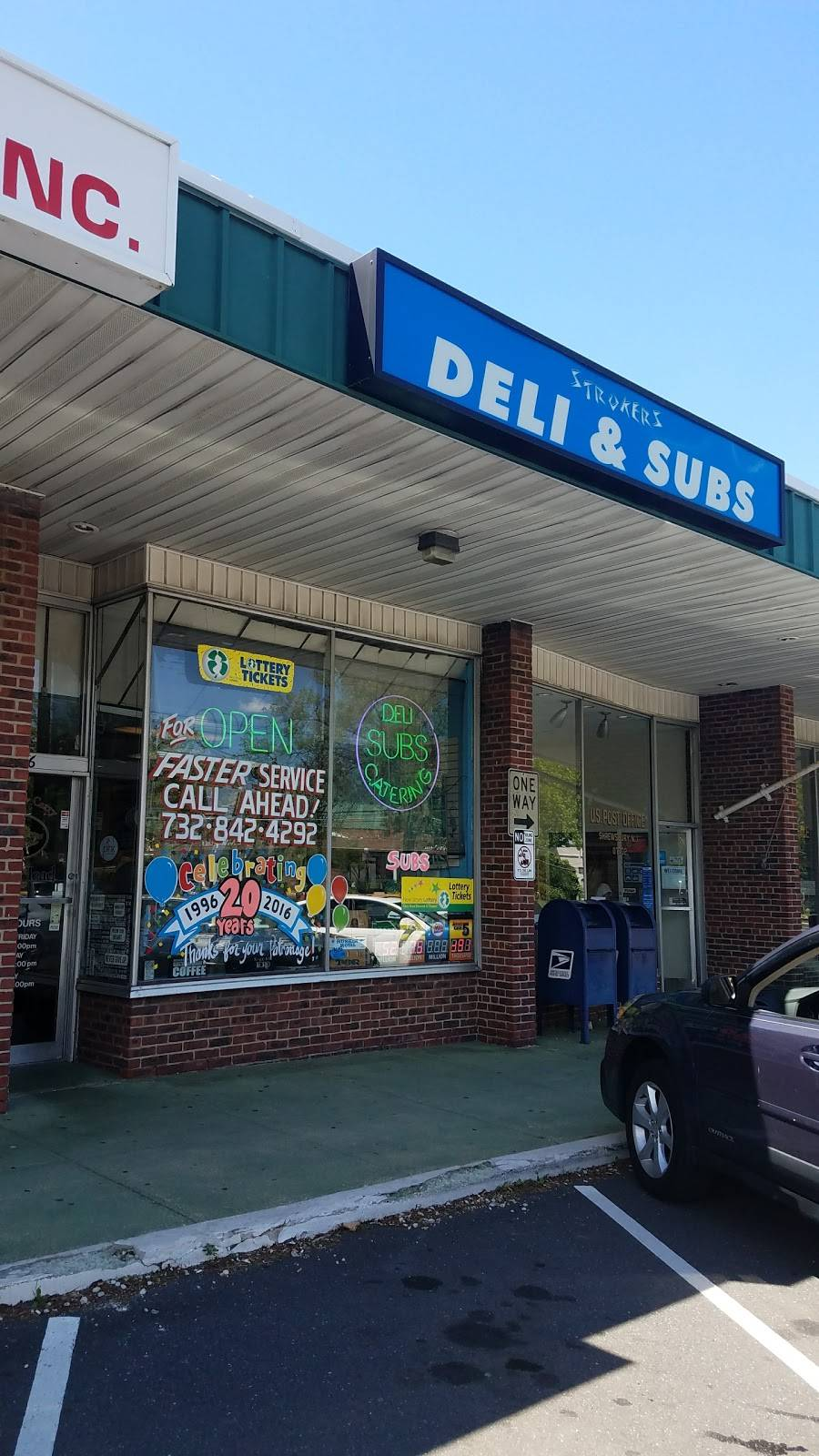 Strokers Deli & Subs   meal delivery   566 Broad St, Shrewsbury, NJ 07702, USA   7328424292 OR +1 732-842-4292