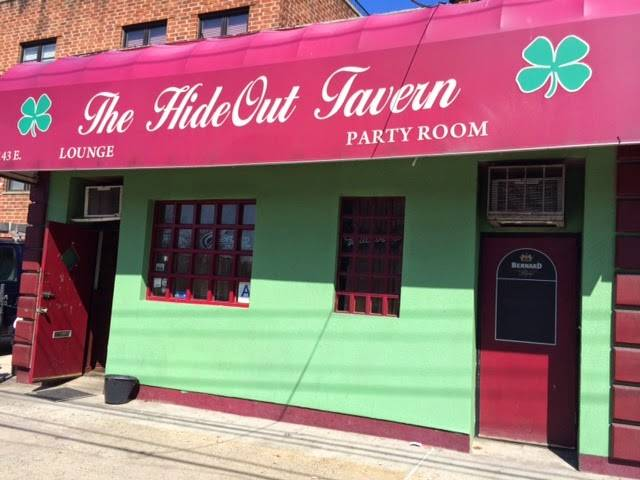 Hideout Tavern | restaurant | 143 E 233rd St, Bronx, NY 10470, USA | 3472751105 OR +1 347-275-1105