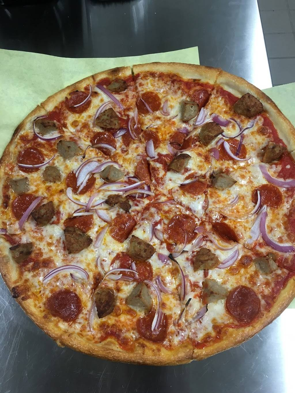 Pizza Place 123   meal takeaway   2528 S Alameda St, Vernon, CA 90058, USA   3236784123 OR +1 323-678-4123
