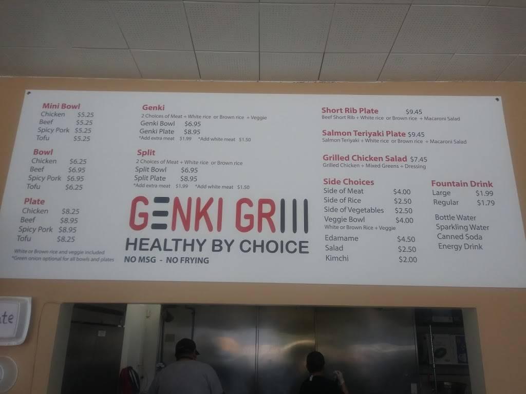 Genki Grill   restaurant   6355 Wilshire Blvd, Los Angeles, CA 90048, USA   3236533287 OR +1 323-653-3287