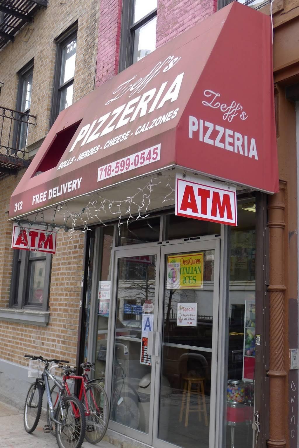 Zeffs Pizzeria   restaurant   312 S 3rd St, Brooklyn, NY 11211, USA   7185990545 OR +1 718-599-0545
