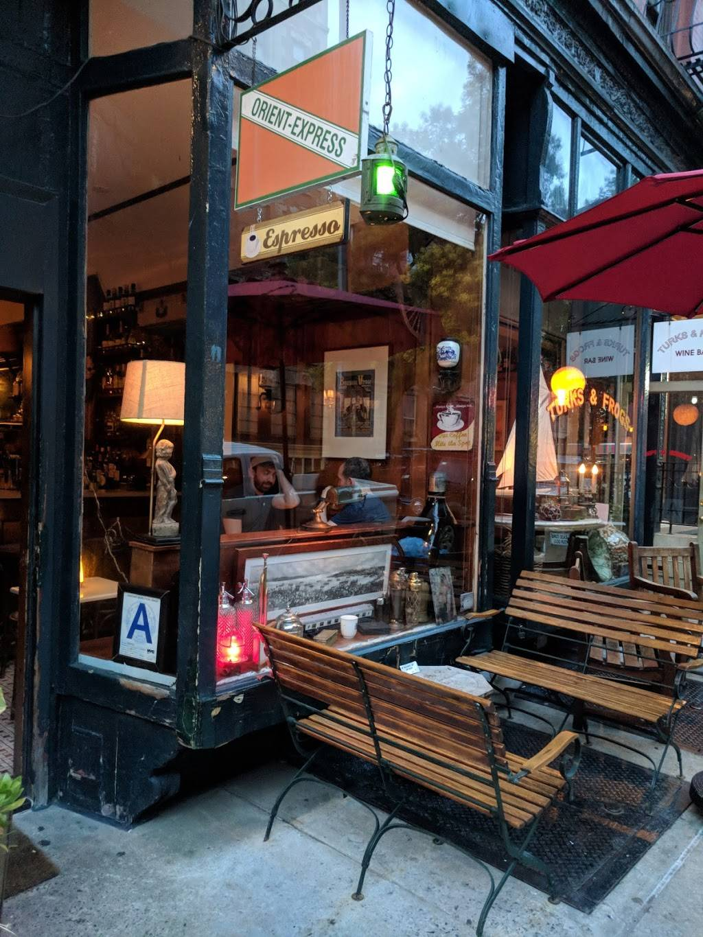 Orient Express | cafe | 325 W 11th St, New York, NY 10014, USA | 2126918845 OR +1 212-691-8845