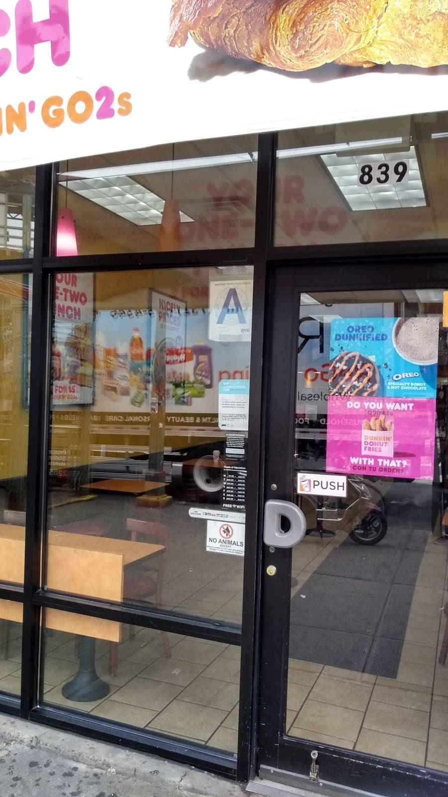 Subway Restaurants | restaurant | 839 Prospect Ave, Bronx, NY 10459, USA | 7187085330 OR +1 718-708-5330