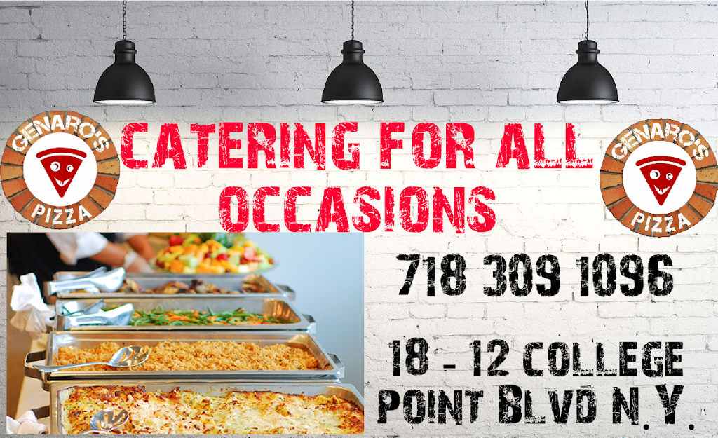 Genaros pizzeria | meal delivery | 18-12 College Point Blvd, Flushing, NY 11356, USA | 7183091096 OR +1 718-309-1096