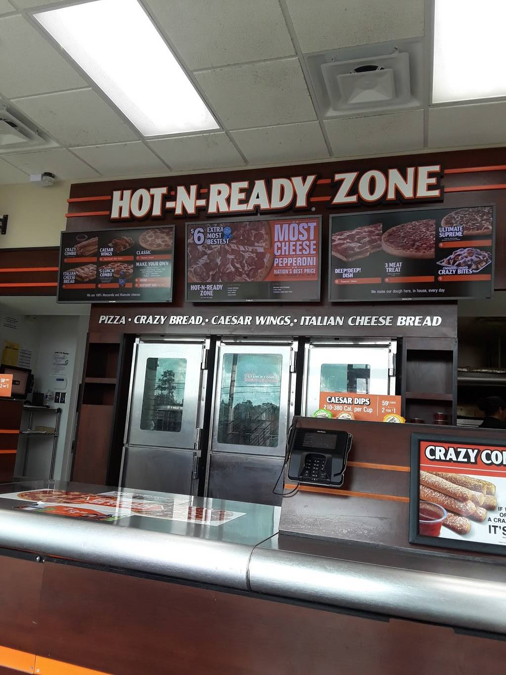 Little Caesars Pizza | meal takeaway | 7815 Farm to Market 1960 Bypass Rd W Ste 6, Humble, TX 77338, USA | 2814460959 OR +1 281-446-0959