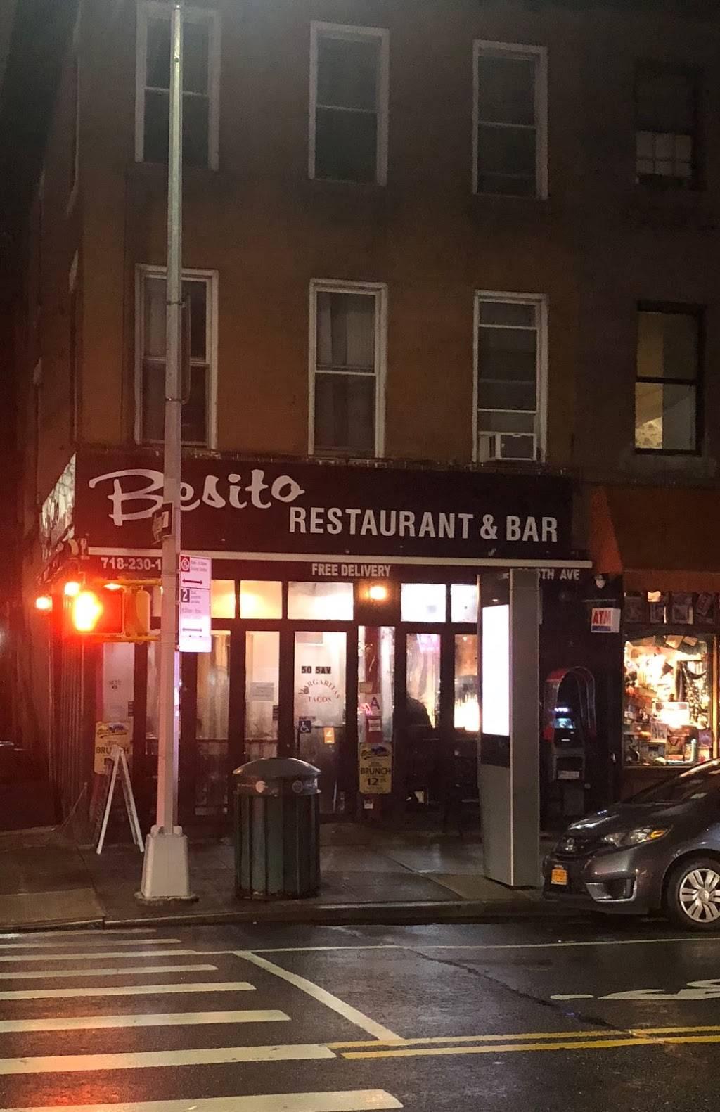 Besito   restaurant   50 5th Ave, Brooklyn, NY 11217, USA   7182301703 OR +1 718-230-1703