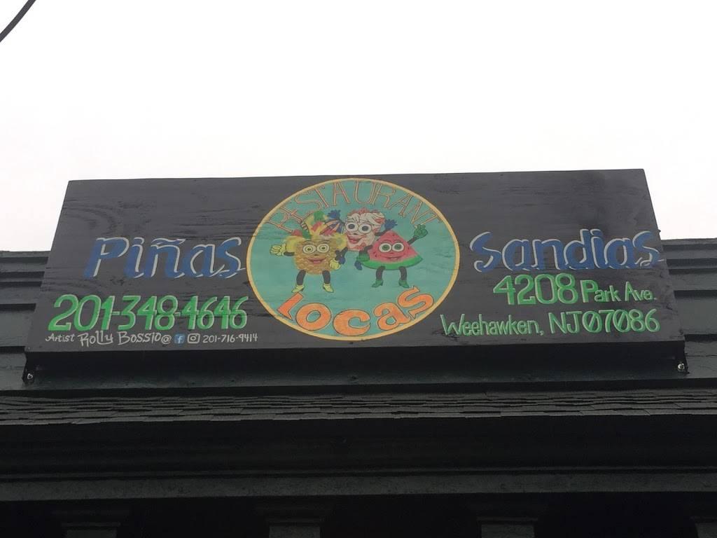 Piñas Locas Poblanas Restaurant | restaurant | 4208 Park Ave, Weehawken, NJ 07086, USA | 2013484646 OR +1 201-348-4646