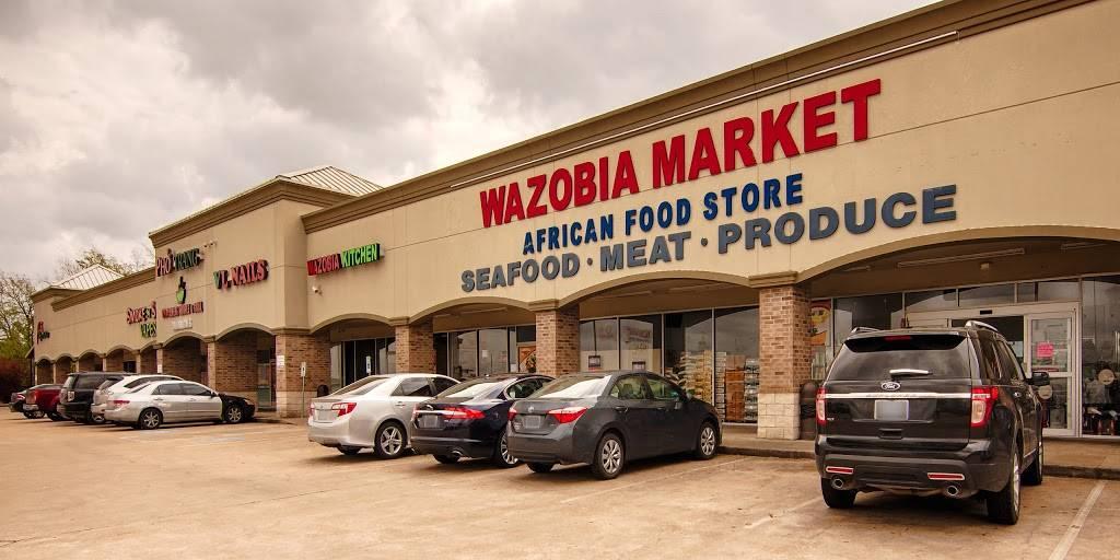 Wazobia African Market   restaurant   16203 Westheimer Rd, Houston, TX 77082, USA   8322303893 OR +1 832-230-3893