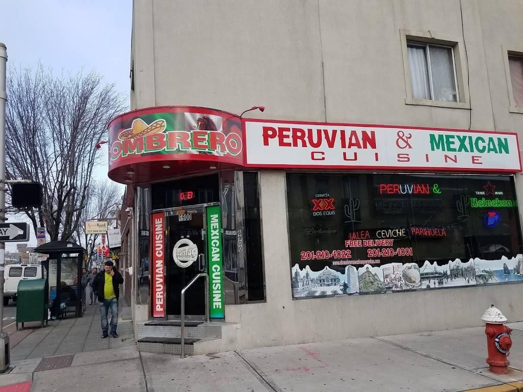 El Sombrero | restaurant | 6900 Bergenline Ave, Guttenberg, NJ 07093, USA | 2012104022 OR +1 201-210-4022