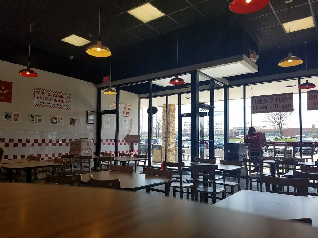 Five Guys   meal takeaway   1057 Miamisburg Centerville Rd, Centerville, OH 45459, USA   9374284897 OR +1 937-428-4897