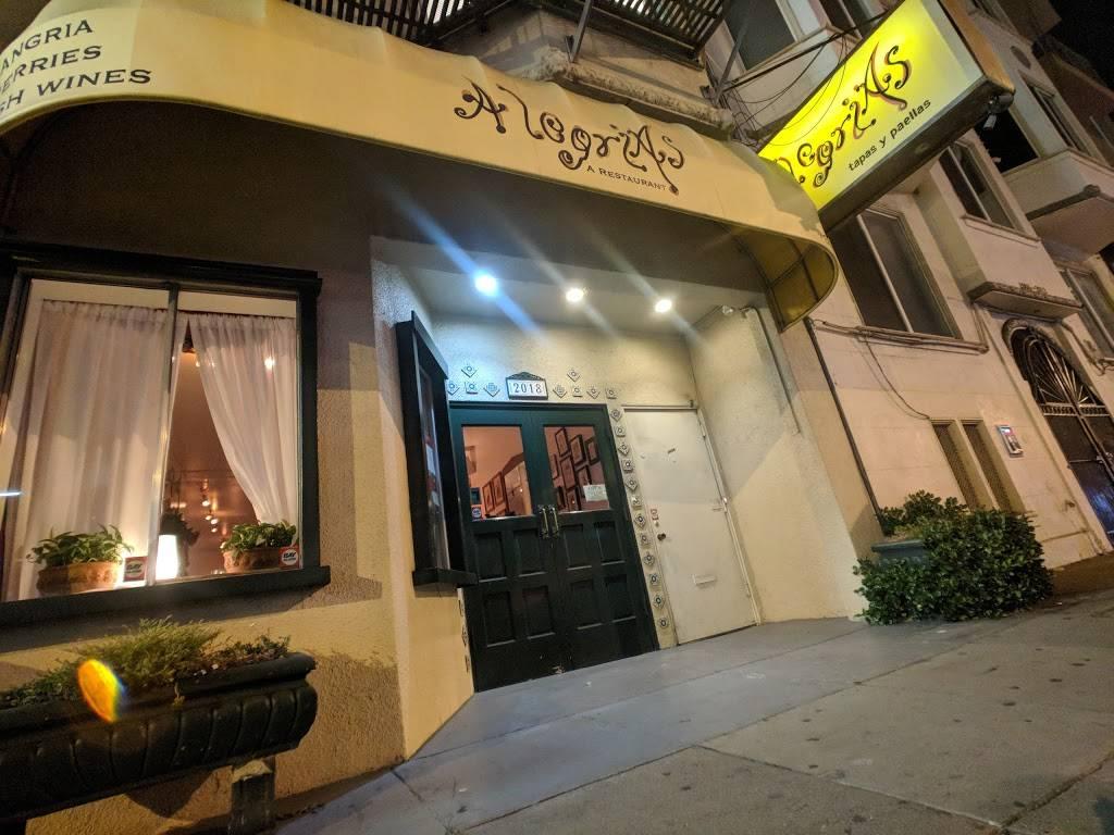 Alegrias   restaurant   2018 Lombard St, San Francisco, CA 94123, USA   4159298888 OR +1 415-929-8888