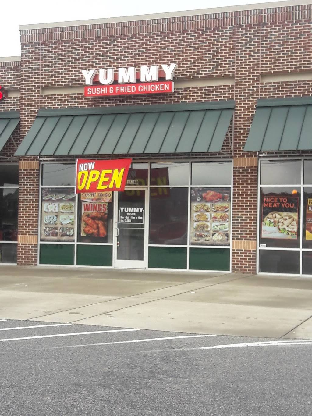 Yummy | restaurant | 1738 Bingham Dr suite b, Fayetteville, NC 28304, USA | 9103391801 OR +1 910-339-1801