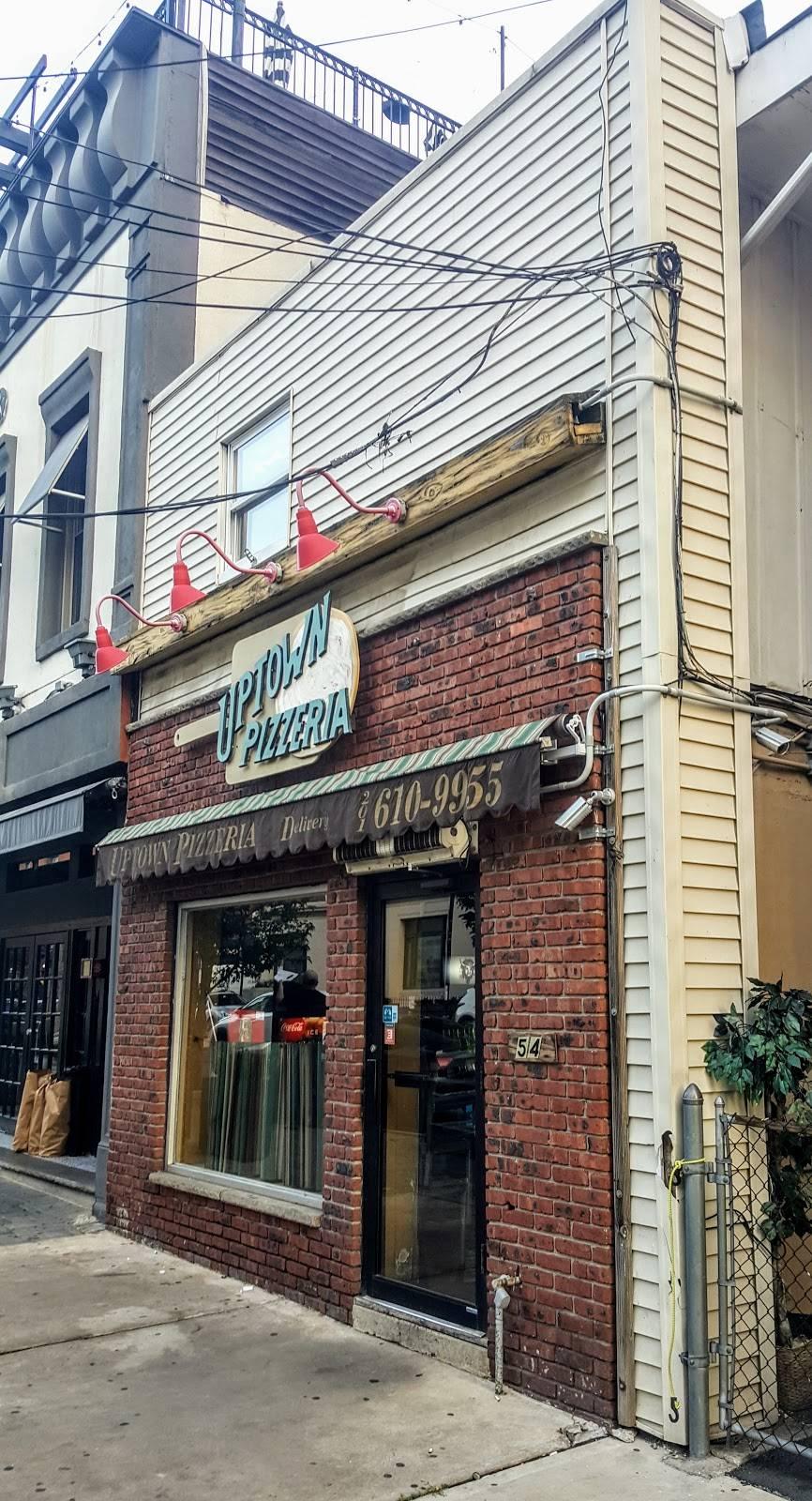 Uptown Pizzeria | restaurant | 54 14th St, Hoboken, NJ 07030, USA | 2016109955 OR +1 201-610-9955
