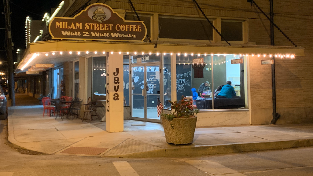 Milam Street Coffee & More | cafe | 200 W Milam St, Wharton, TX 77488, USA | 9794882885 OR +1 979-488-2885