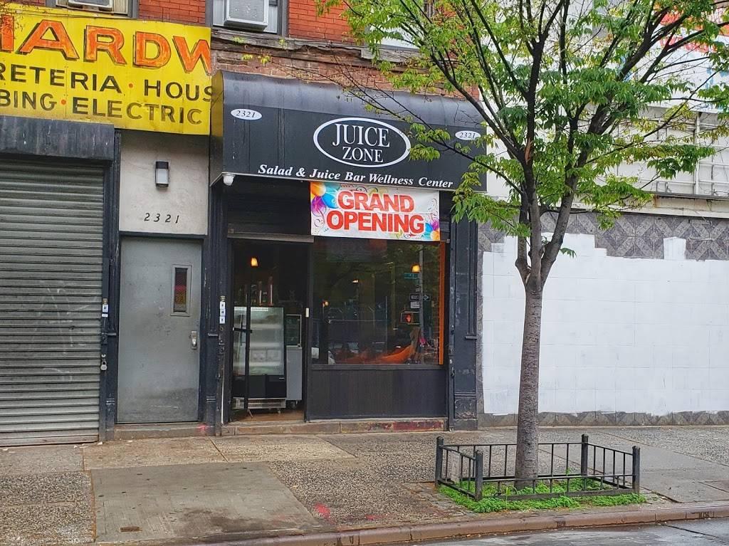 Juice Zone | restaurant | 2321 1st Avenue, New York, NY 10035, USA | 3478055484 OR +1 347-805-5484