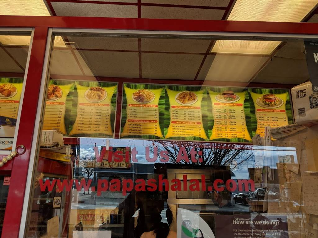 Papas Halal Chicken & Grill | restaurant | 1787 Forest Ave, Staten Island, NY 10303, USA | 7187272201 OR +1 718-727-2201
