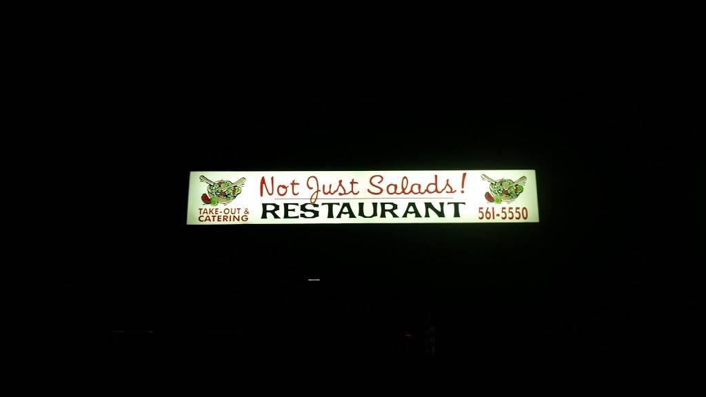Not Just Salads   restaurant   215 Quassaick Ave # 101, New Windsor, NY 12553, USA   8455615550 OR +1 845-561-5550