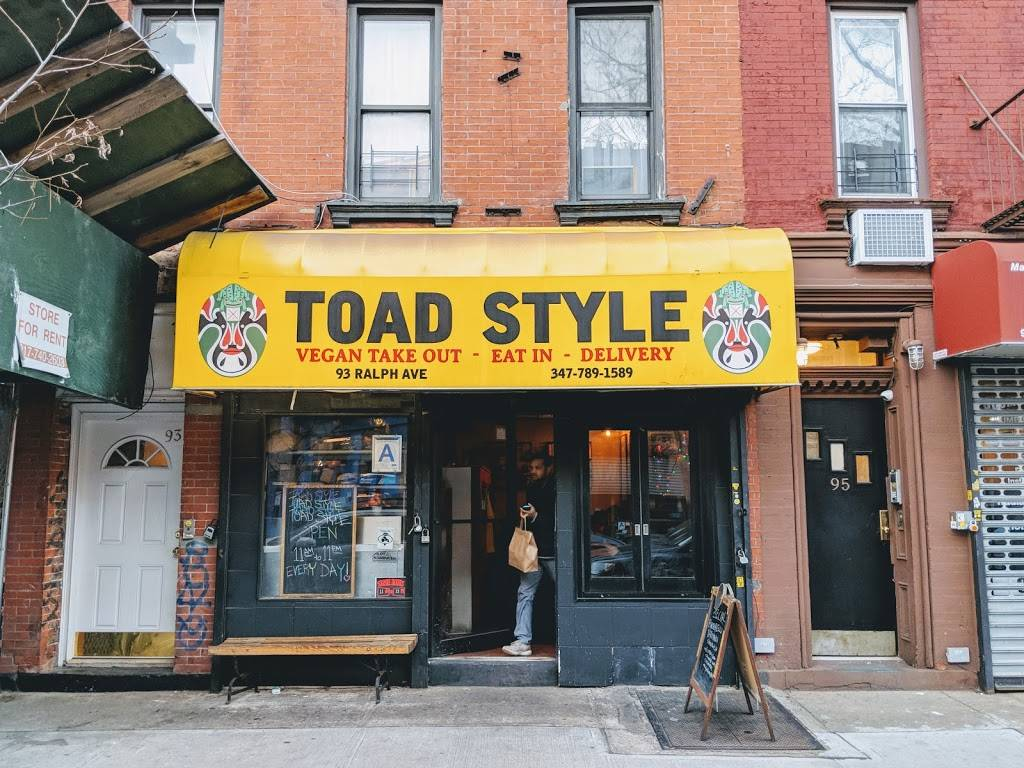 Toad Style | meal delivery | 93 Ralph Ave, Brooklyn, NY 11221, USA | 3477891589 OR +1 347-789-1589