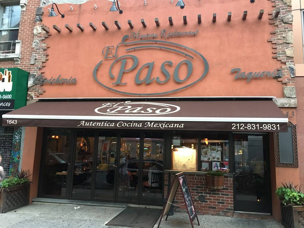 El Paso Restaurante | restaurant | 123 E 110th St, New York, NY 10029, USA | 2128319831 OR +1 212-831-9831