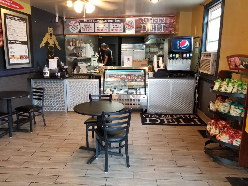Campus Deli | meal takeaway | 400 Semple St, Pittsburgh, PA 15213, USA | 4126833200 OR +1 412-683-3200