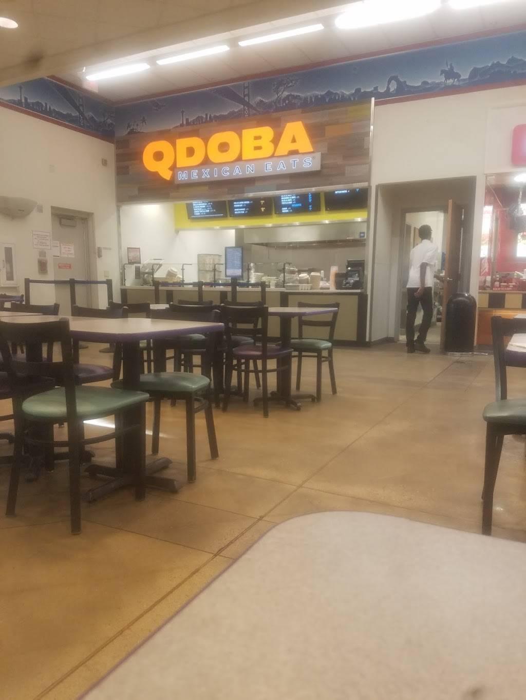 Qdoba Mexican Eats   restaurant   Fort Lee, VA 23801, USA