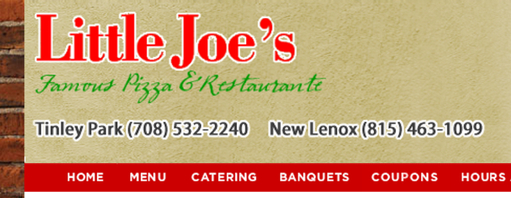 Little Joes Pizza | restaurant | 7976 167th St, Tinley Park, IL 60477, USA | 7085322240 OR +1 708-532-2240
