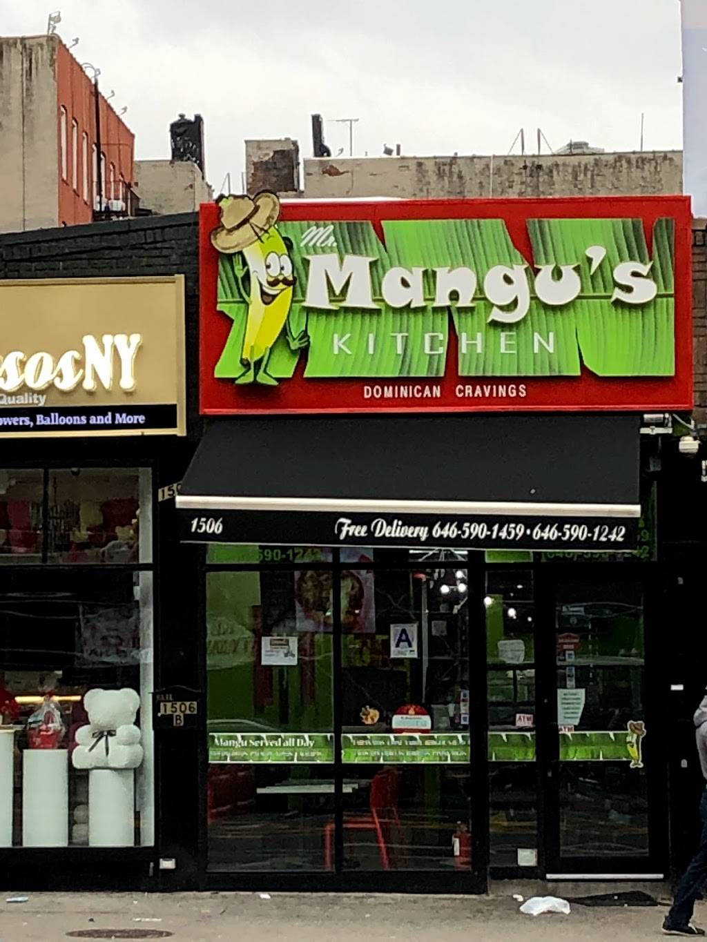 Mr Mangus Kitchen Dominican Cravings | restaurant | 1506 St Nicholas Ave, New York, NY 10033, USA | 6465901459 OR +1 646-590-1459