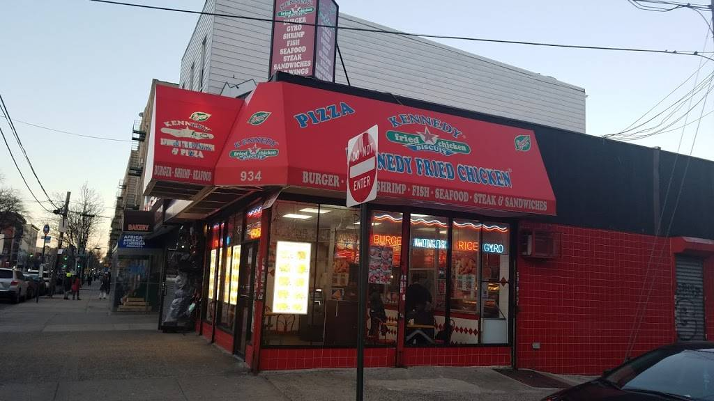 Kennedy Fried Chicken | restaurant | 934 Morris Ave, Bronx, NY 10456, USA | 7182933314 OR +1 718-293-3314