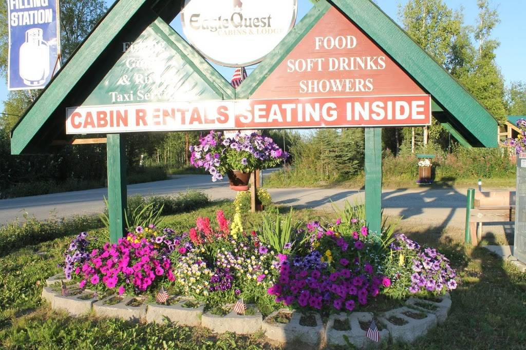 EagleQuest Cabins & Lodge | restaurant | 11929 Remote Ln, Willow, AK 99688, USA | 9074951116 OR +1 907-495-1116