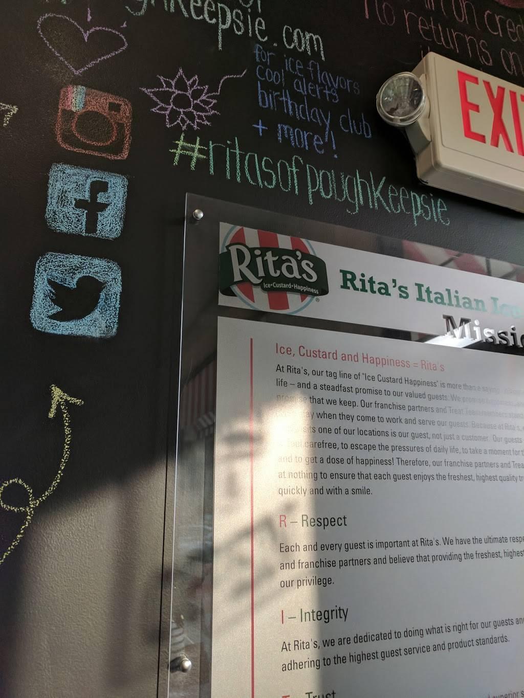 Ritas Italian Ice & Frozen Custard | restaurant | 8 Taft Ave, Poughkeepsie, NY 12603, USA | 8454857482 OR +1 845-485-7482
